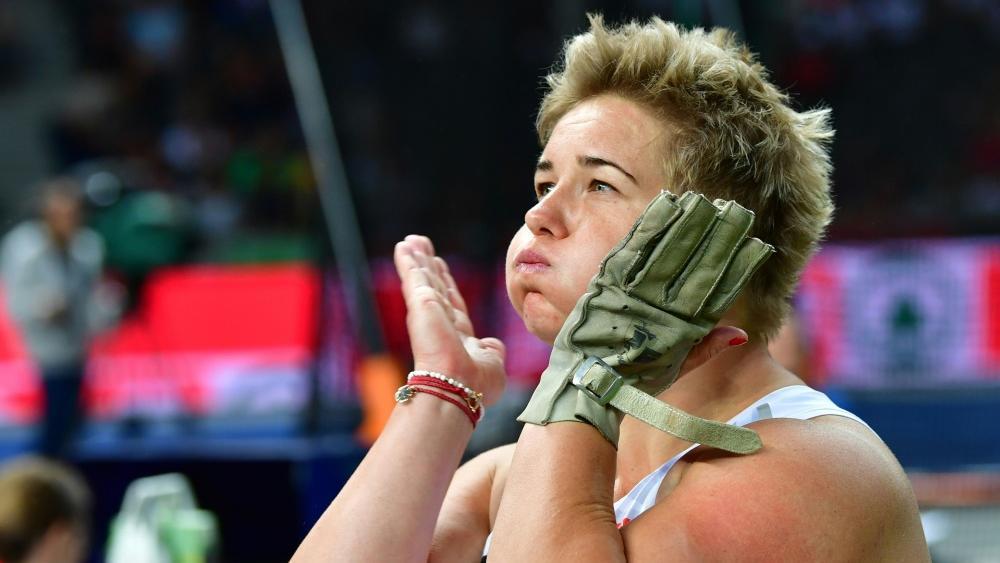 Anita Wlodarczyk fällt verletzungsbedingt aus