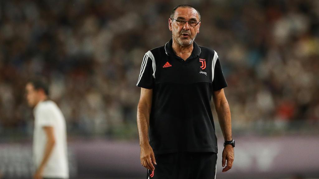 Maurizio Sarri fehlt Juventus beim Auftakt der Serie A