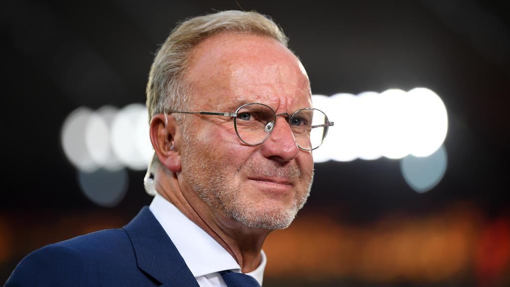 Karl-Heinz Rummenigge sieht RB Leipzig als großen Konkurrenten
