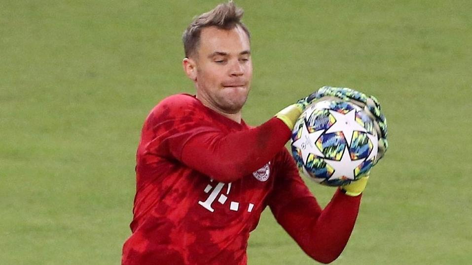 Manuel Neuer bestreitet sein 103. CL-Spiel