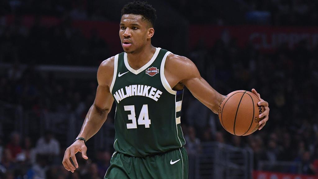 Giannis Antetokounmpo überragt bisher in der NBA-Saison