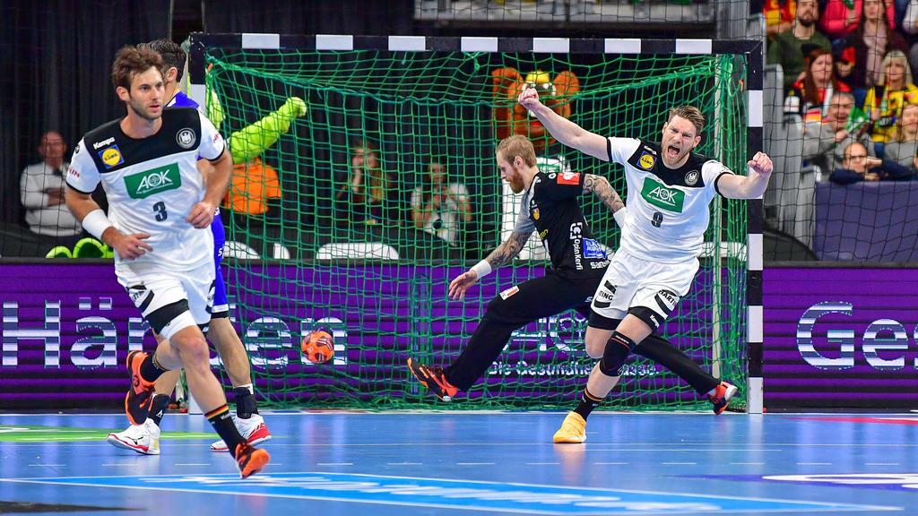 Handball Em Dhb Team Uberzeugt Im Hartetest Gegen Island