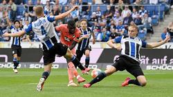 Keine Tore zwischen der TSG Hoffenheim und Arminia Bielefeld