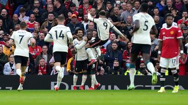 Unglaubliche Performance von Mohamed Salah (M.) und Liverpool