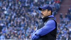David Wagner hat sich zur Lage beim FC Schalke 04 geäußert