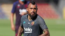 Arturo Vidal machte eine Kampfansage in Richtung FCBayern München