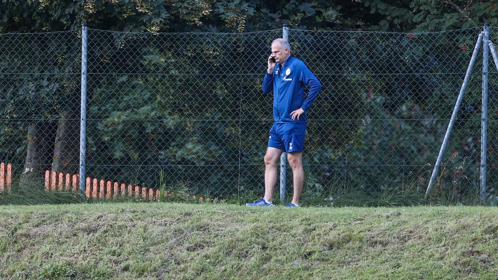 Jochen Schneider steht beim FC Schalke 04 vor geschäftigen Stunden