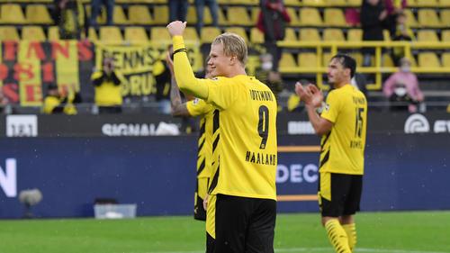 BVB-Stürmer Erling Haaland wird unter anderem mit Real Madrid in Verbindung gebracht