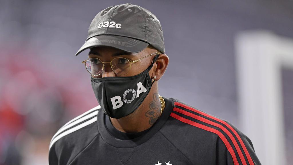 Jérôme Boateng steht vor dem Aus beim FC Bayern
