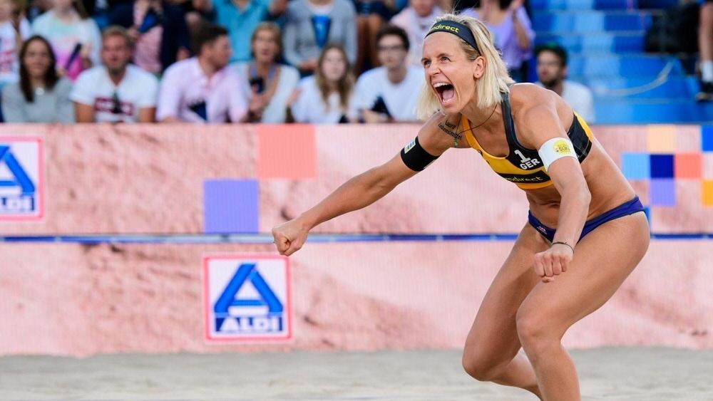 Laura Ludwig kämpft mit Margareta Kozuch um Olympia