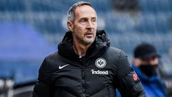 Adi Hütter hätte gerne noch einen neuen Stürmer im Kader