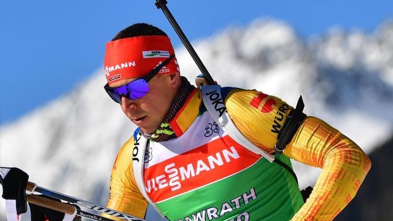 Als Schlussläufer in der letzten Biathlon-Staffel der Saison gesetzt: Philipp Nawrath