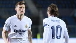 Lassen Real Madrid hoffen: Toni Kroos und Luka Modric