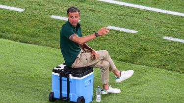 Entschied sich gegen die Spieler von Real Madrid: Spanien-Trainer Luis Enrique
