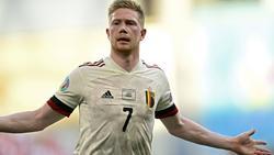 Kevin De Bruyne ist das Herz des belgischen Teams