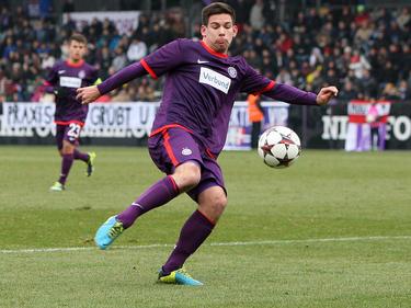 Peter Michorl lieferte den Assist zum zwischenzeitlichen 1:0 für die Austria.