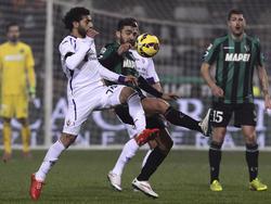 Salah trifft gegen Sassulo