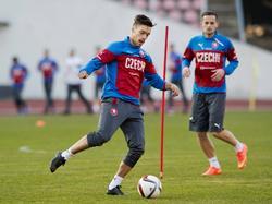 Václav Kadlec (l.) will mit der tschechischen U21 bei der Euro 2015 groß aufspielen