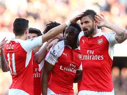 El Arsenal está inmerso en la pelea por la zona de Liga de Campeones. (Foto: Getty)