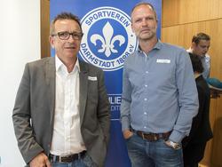 Holger Fach und Norbert Meier tragen die sportliche Verantwortung bei Darmstadt 98