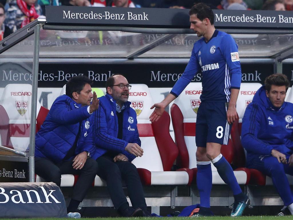 Leon Goretzka verlässt den FC Schalke im Sommer in Richtung München