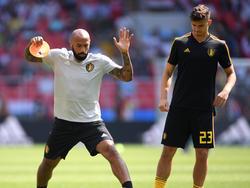 Der ehemalige Stürmerstar Thierry Henry ist bei Belgien als Co-Trainer tätig