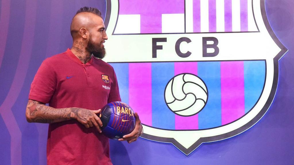 Arturo Vidal muss sein Barca-Debüt womöglich verschieben (Bildquelle: Twitter)