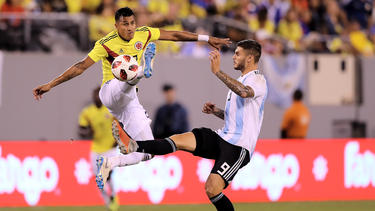 Argentina y Colombia se presentarion como dos equipos gemelos. (Foto: Getty)