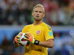 Kasper Schmeichel ist einer der Führungsspieler der Dänen