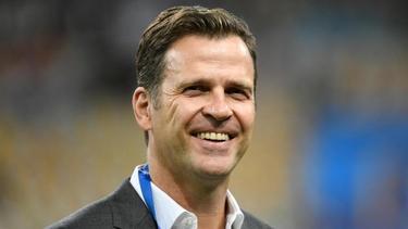 Stärkt Bundestrainer Joachim Löw den Rücken: DFB-Teammanager Oliver Bierhoff