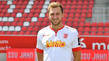 Jonas Föhrenbach verletzte sich gegen den 1. FC Magdeburg