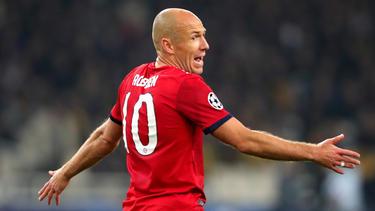 Arjen Robben verlässt den FC Bayern nach der Saison