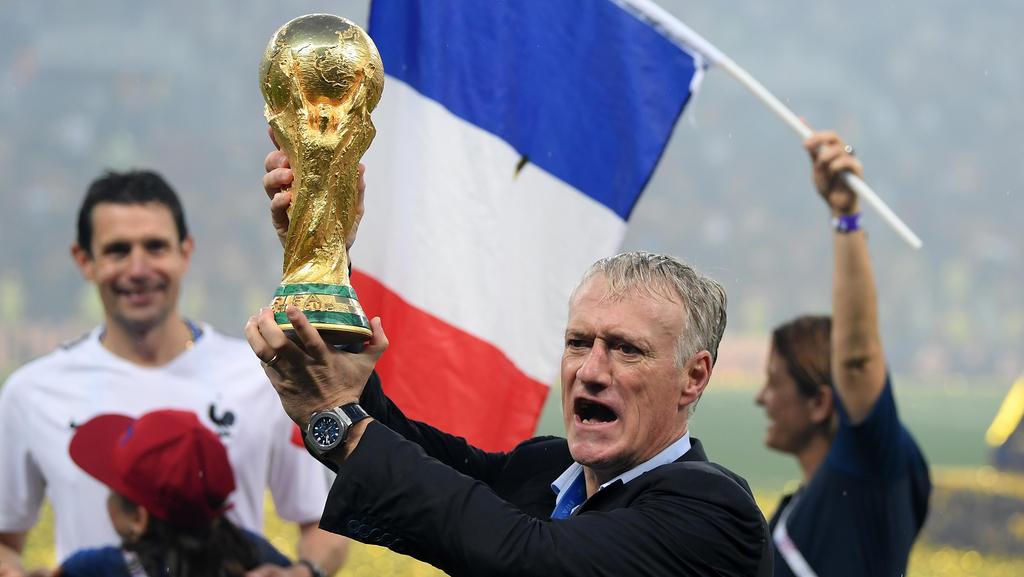 Weltmeister-Macher: Frankreichs Coach Didier Deschamps