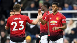 Rashford marcó el 0-2 definitivo para el United. (Foto: Getty)