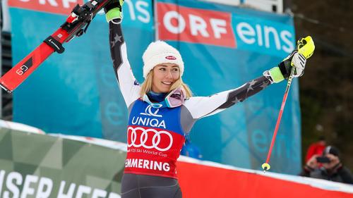 Mikaela Shiffin ist der Konkurrenz einmal mehr davongefahren