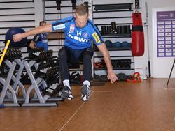 Austrias Christoph Monschein verletzte sich während der sportmotorischen Tests. © FK Austria Wien