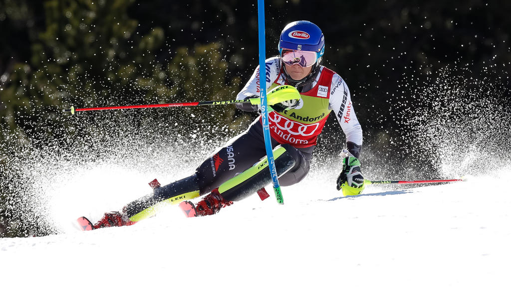 Mikaela Shiffrin feierte ihren 40. Slalom-Sieg