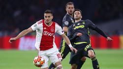 El cuadro holandés le ha plantado cara a la Juve sin complejos. (Foto: Getty)
