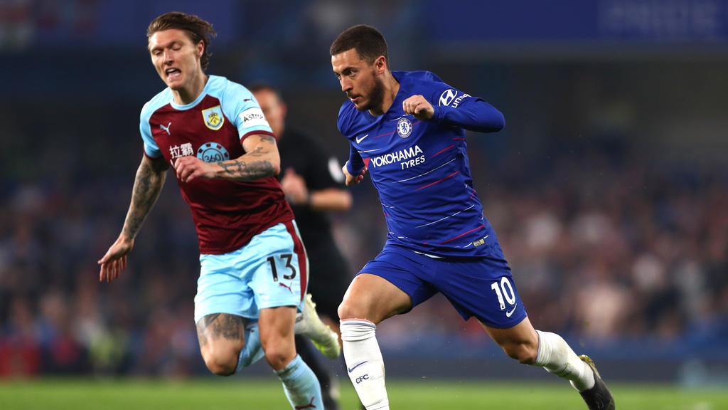 Hazard und Co. spielten remis gegen Burnley