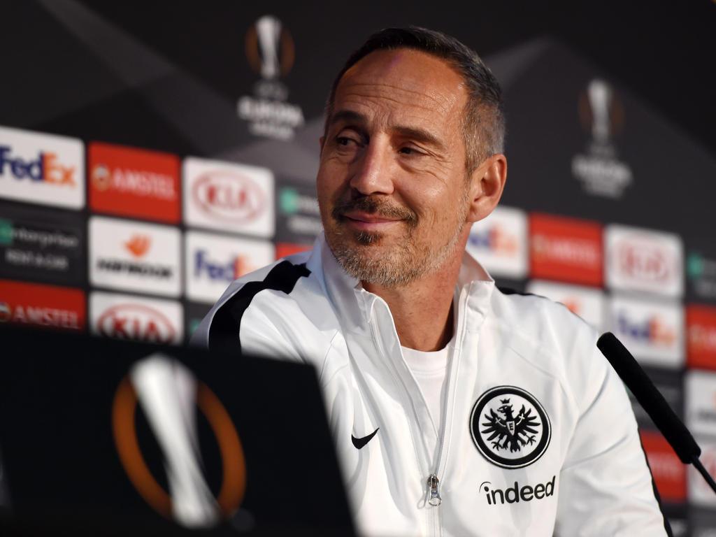 Adi Hütter hat in seiner ersten Saison in Deutschland Aufsehen erregt