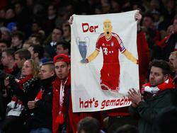 Die Bayern-Fans hoffen auf eine Wiederholung des CL-Coups von 2013