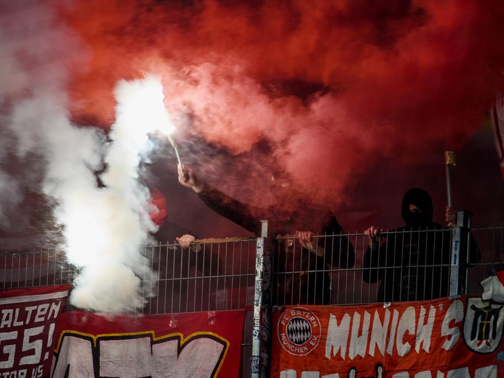 Pyro-Technik: DFB verurteilt den FC Bayern München zu Geldstrafe