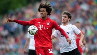 Joshua Zirkzee könnte den FC Bayern vorübergehend verlassen