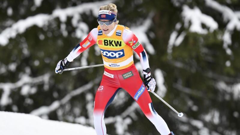 Läuft auch über zehn Kilometer im Freistil allen davon: Therese Johaug aus Norwegen