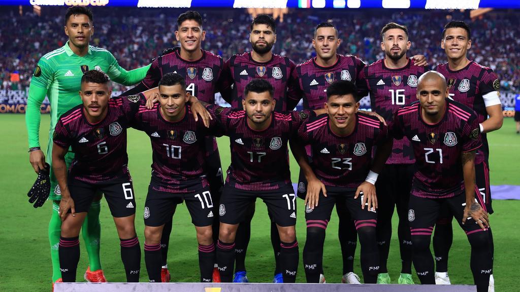 Once inicial de México ante Honduras.