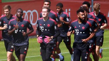 Ron-Thorben Hoffmann (M.) verlässt den FC Bayern