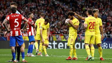 Mo Salah desequilibró la igualada desde el punto de penalti.