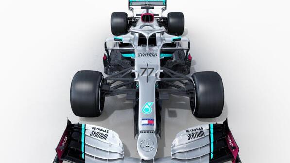 So sieht der neue Formel-1-Bolide von Mercedes aus