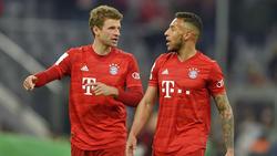 Corentin Tolisso (r.) hat es derzeit beim FC Bayern nicht leicht