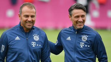 Hansi Flick vom FC Bayern bedankte sich bei Niko Kovac